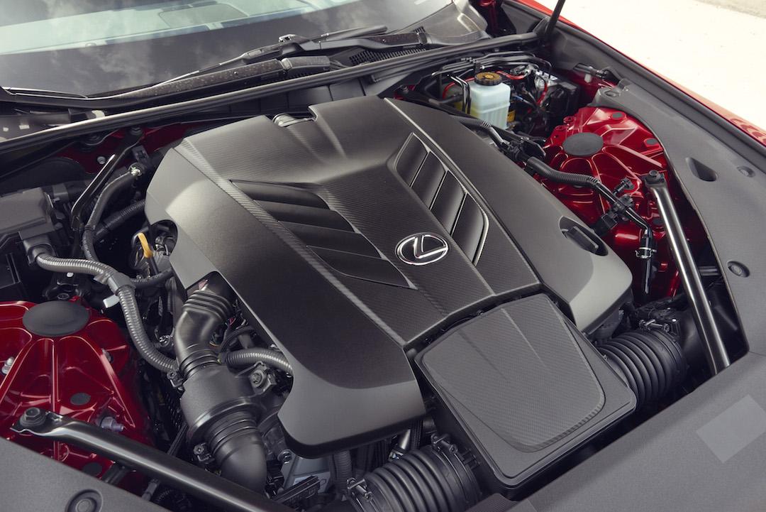 Lexus V8 LC egine
