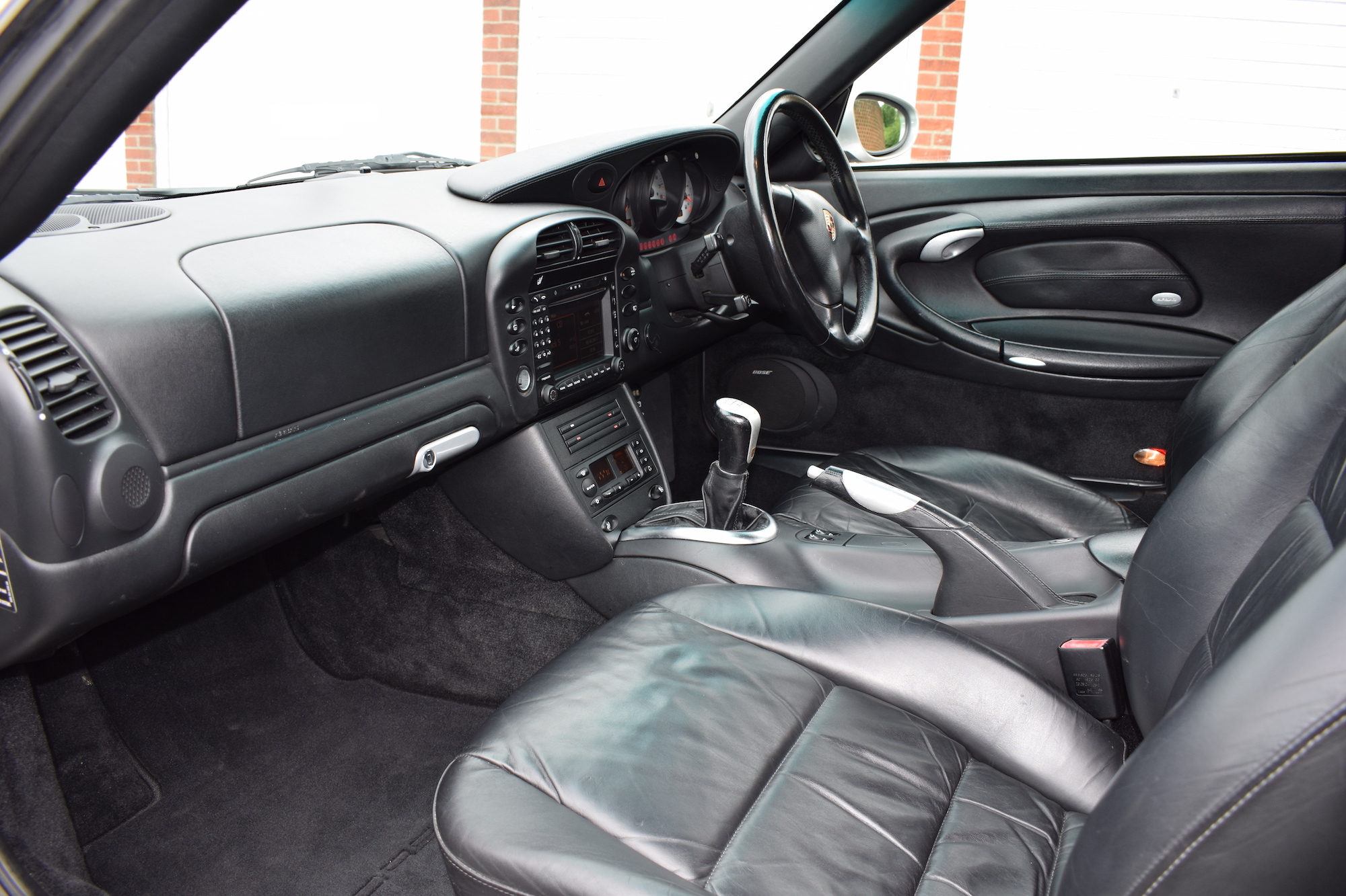 Porsche 996 interior