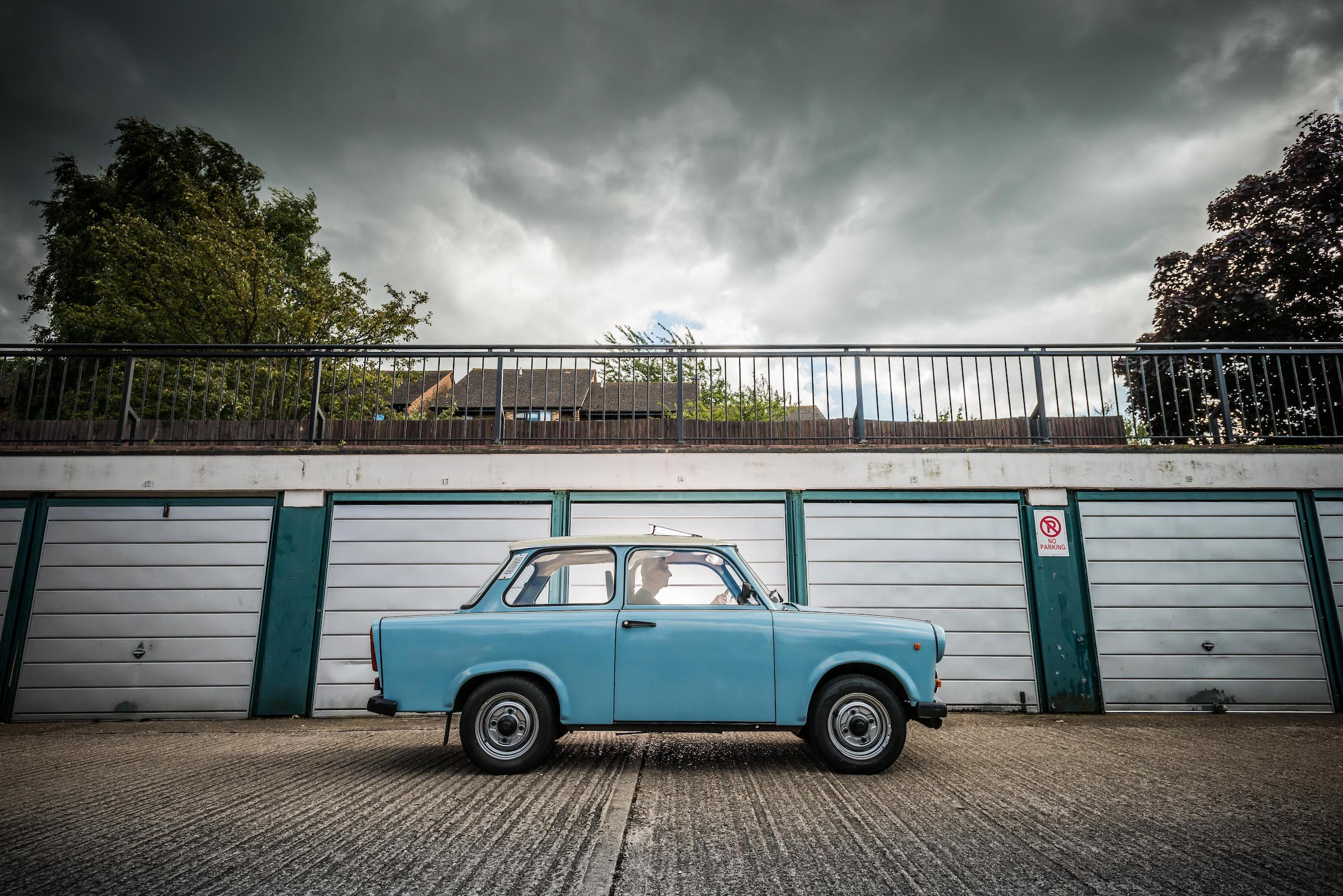 Trabant 601 side view
