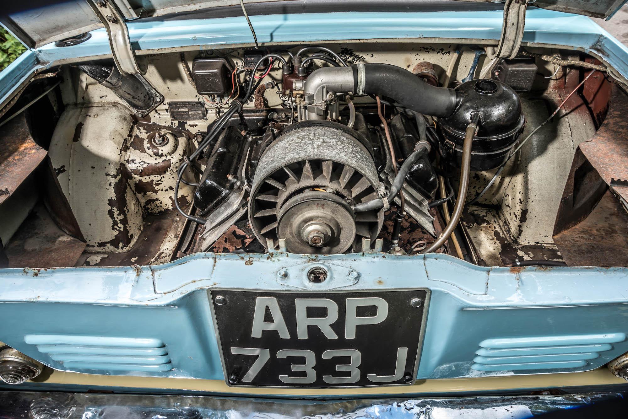 Zaporozhets 968 engine
