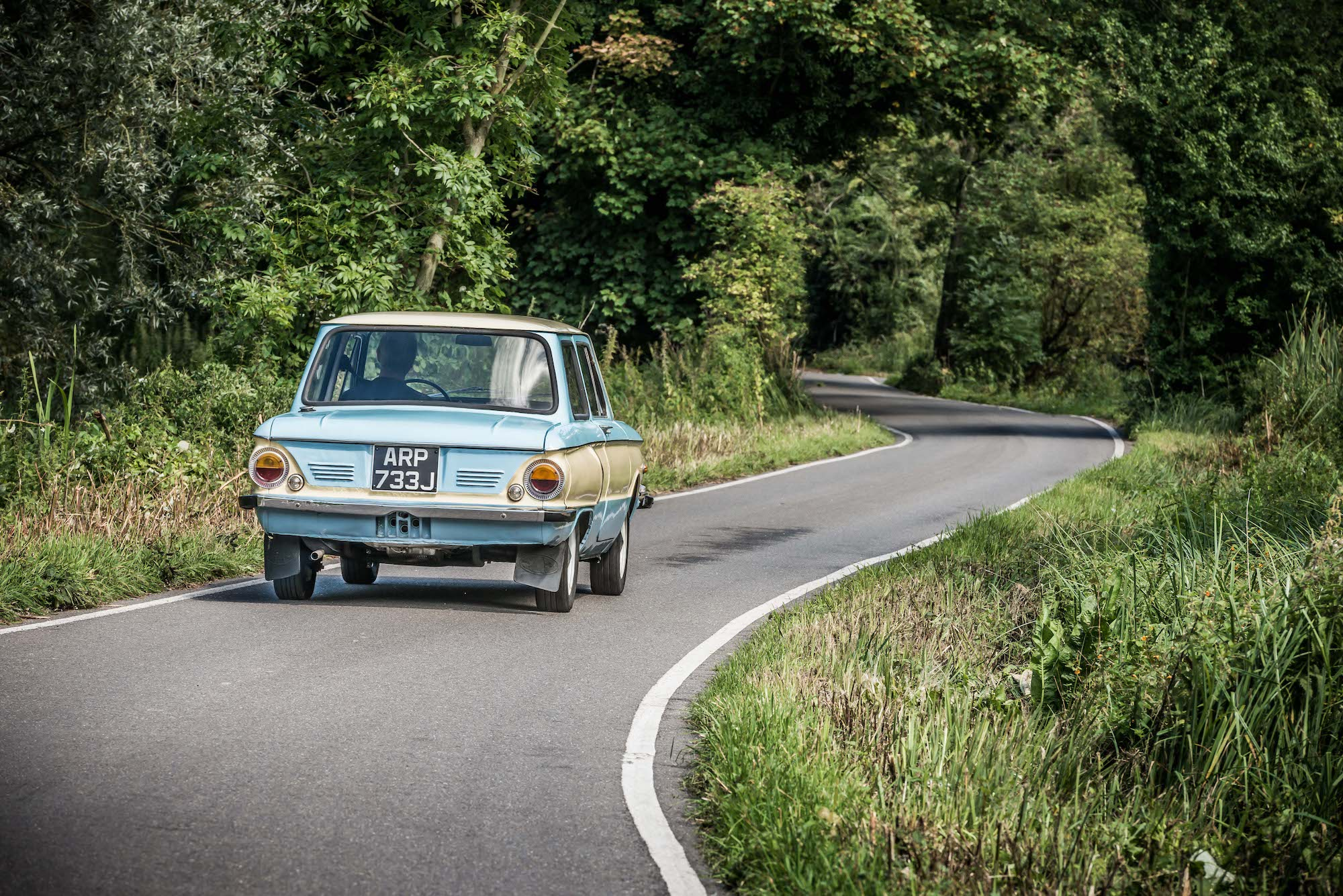 Zaporozhets 968 rear