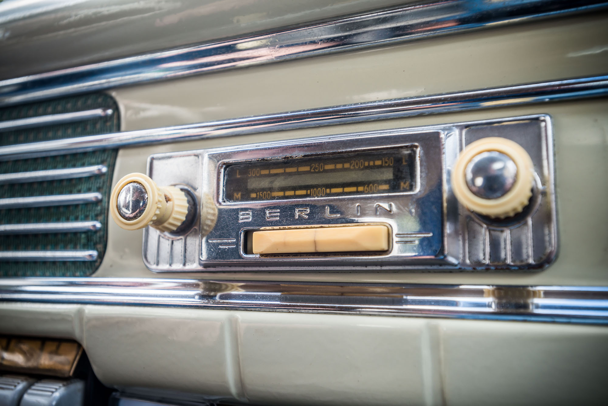 Wartburg Berlin radio