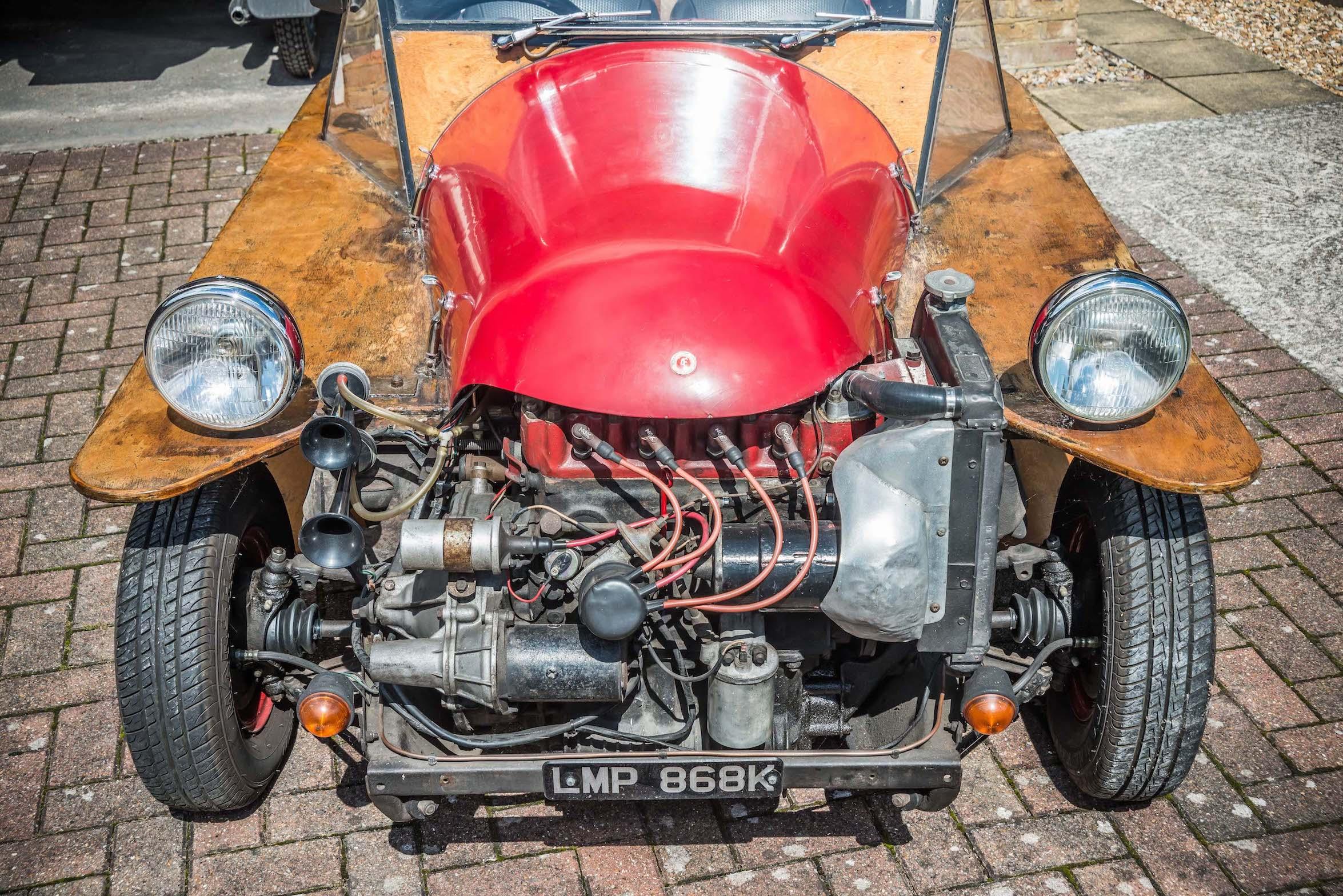 AF Spider engine