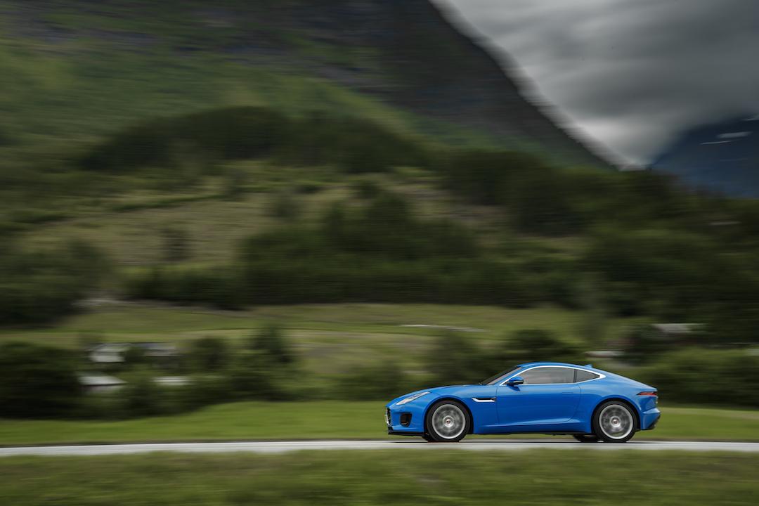 Jaguar blur