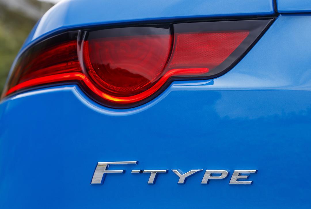 F-Type Jaguar rear