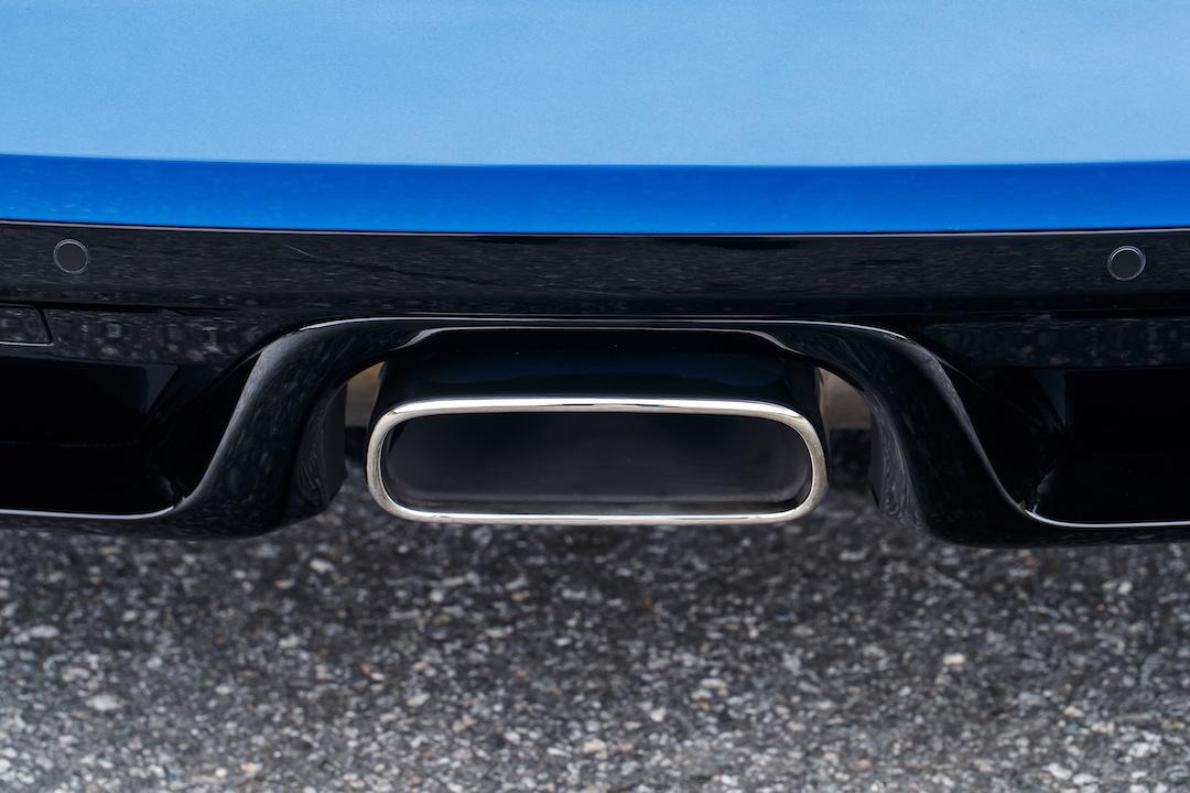 Jaguar F Type exhaust