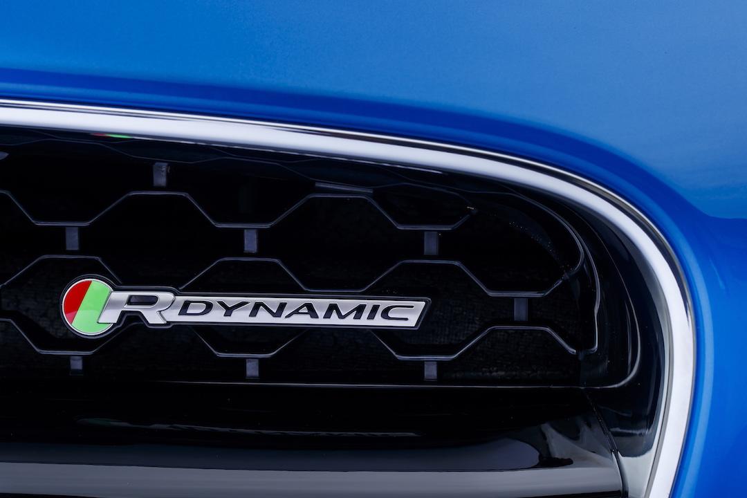 Jaguar R badge