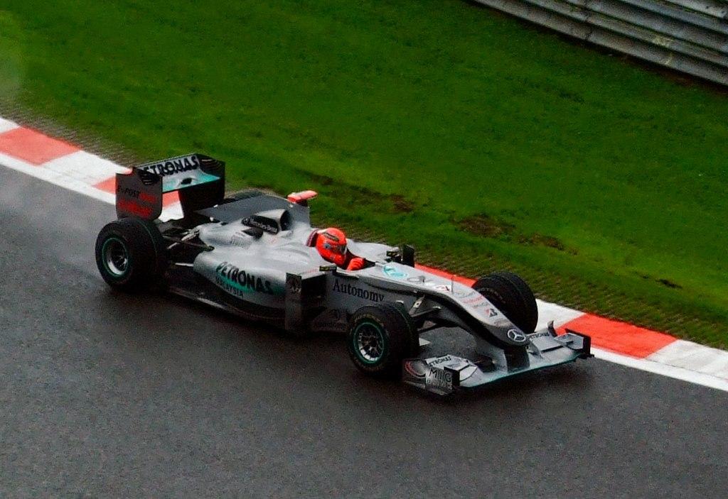 F1 at spa