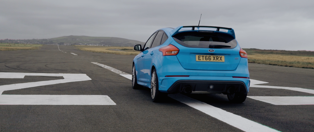 Ford Focus RS on runway