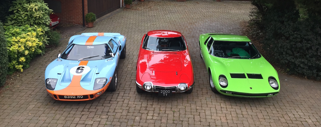 Miura, 2000GT and GTD40