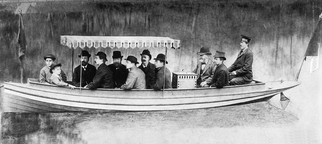 1886 Maybach powered Daimler boat