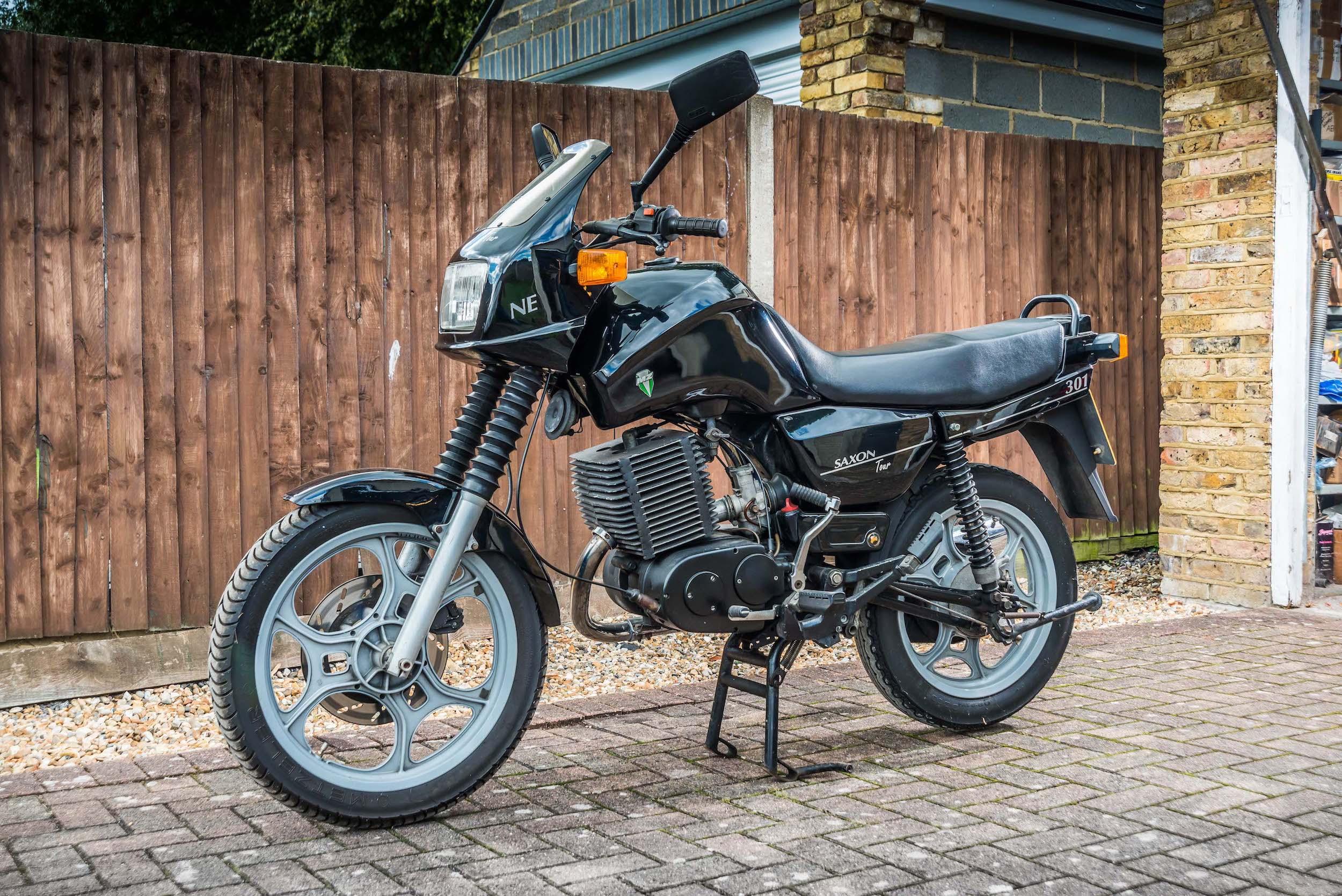 MZ Saxon motorcycle