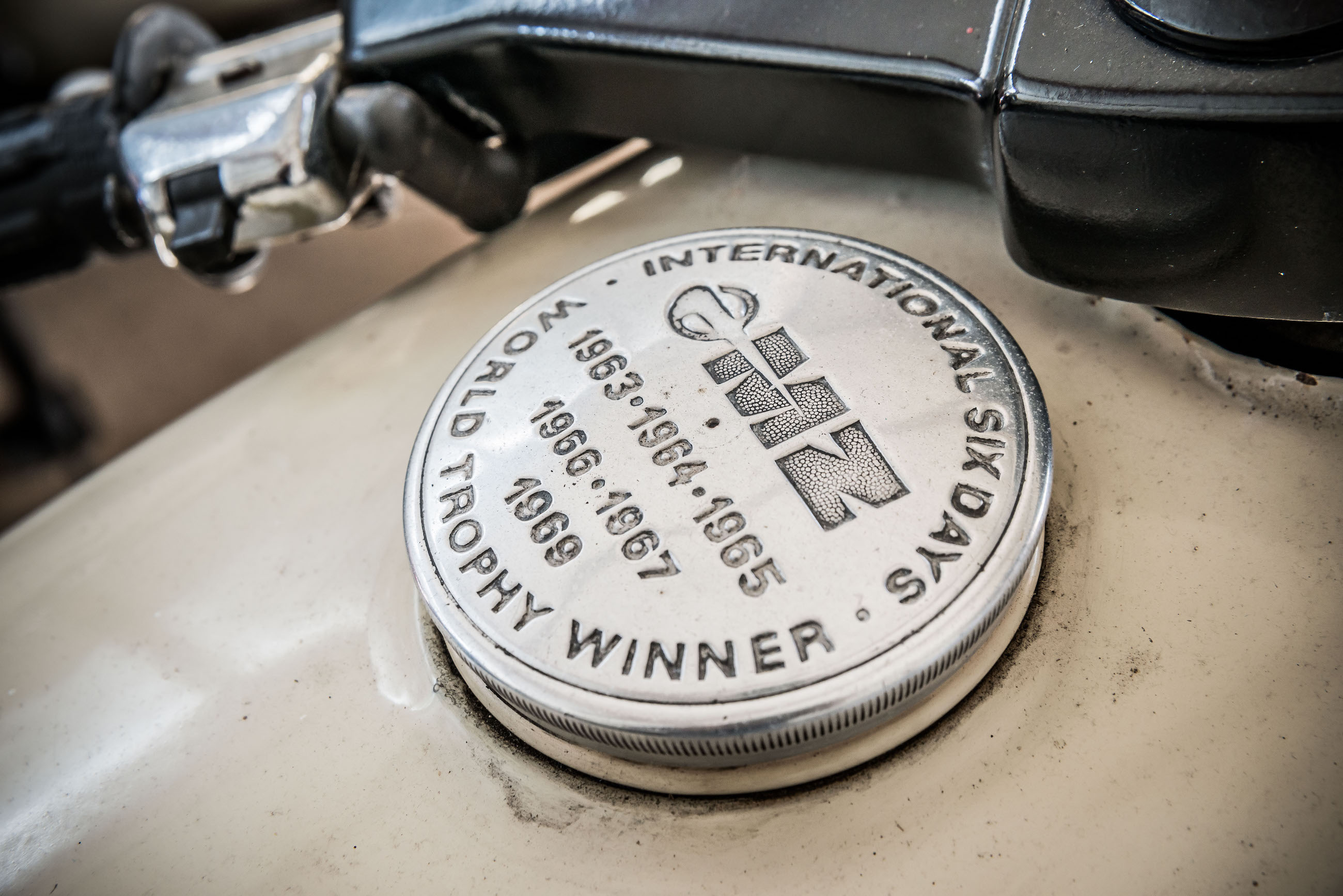 MZ Trophy motorcycle