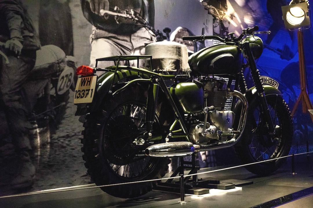 McQueen motorbike