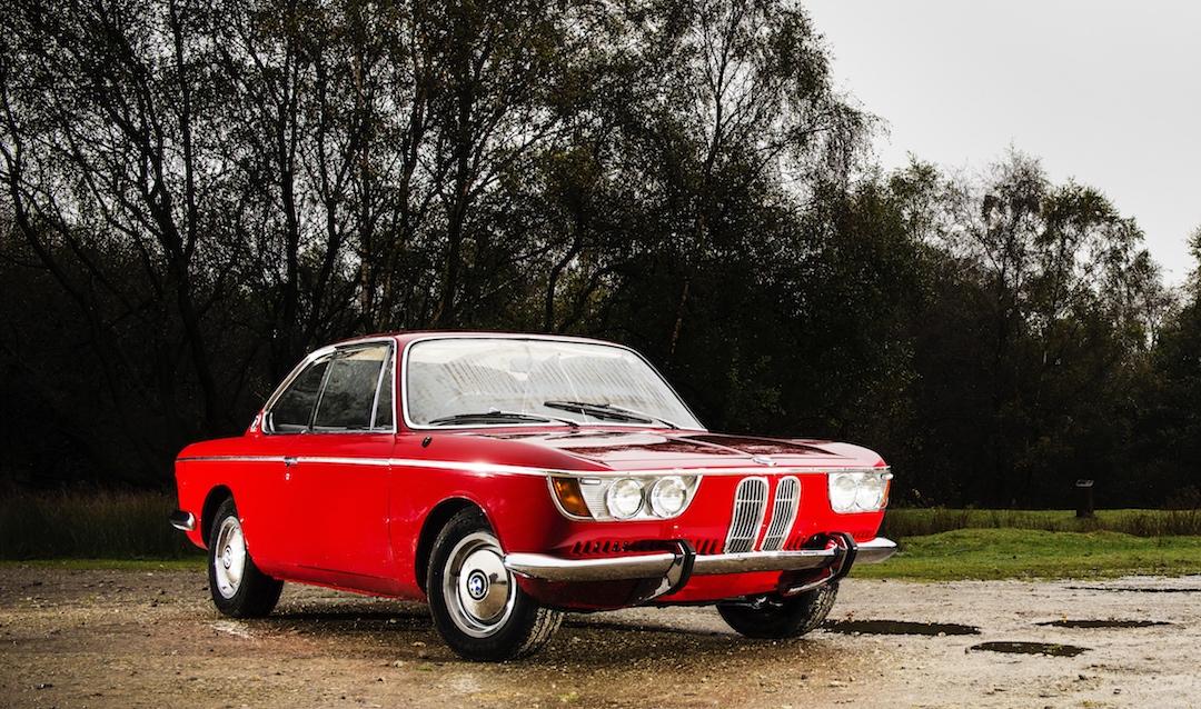 BMW CS front
