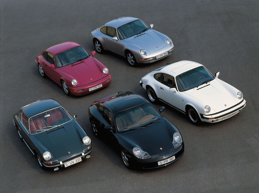 Porsche 911 collection