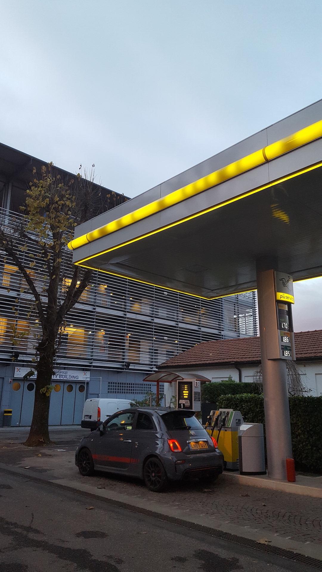 Monza fuel