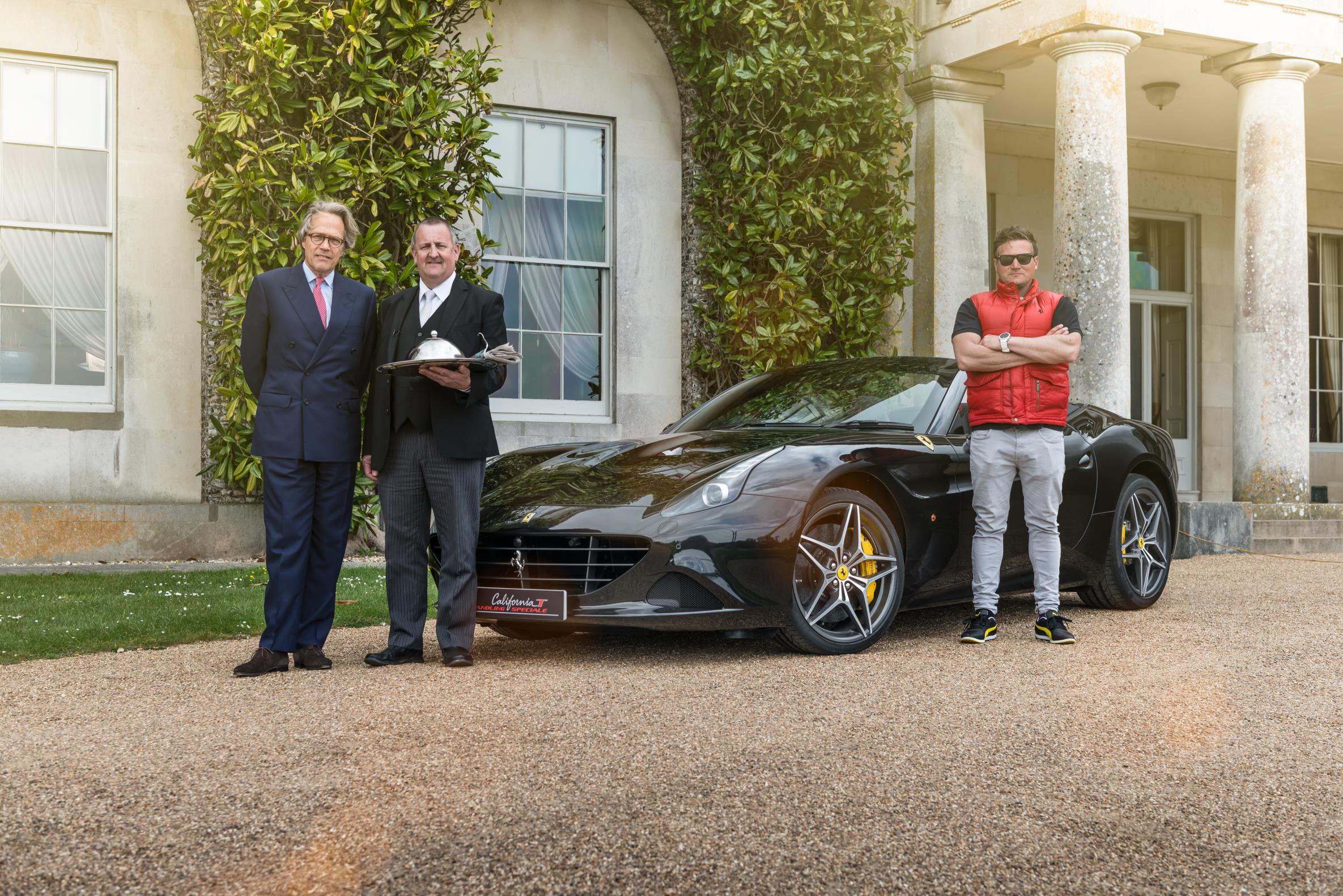 Ferrari California T delivers Full Throttle breakfast