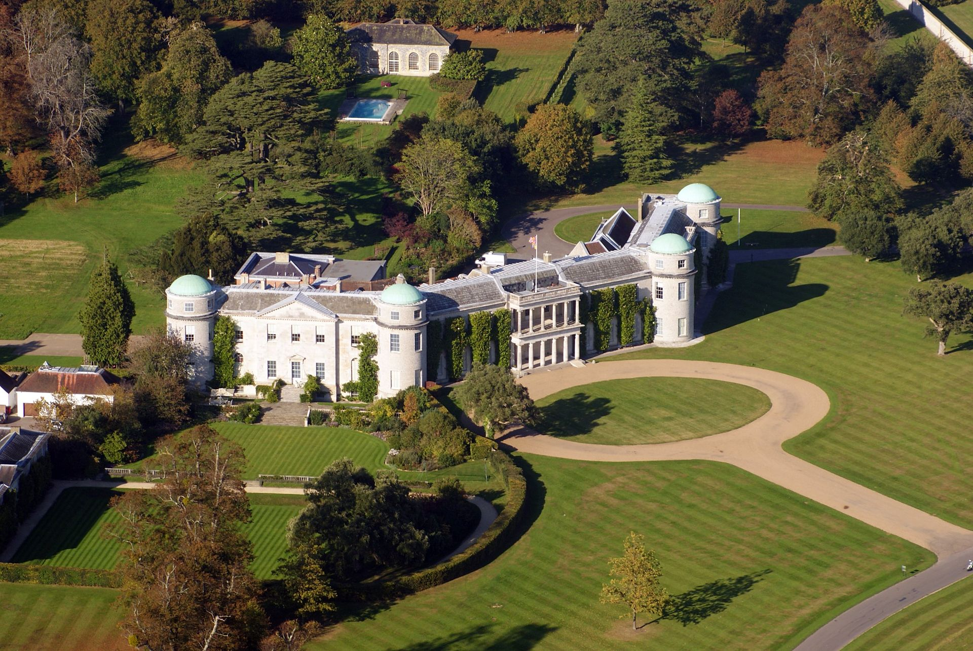 Goodwood House - Lord March residence