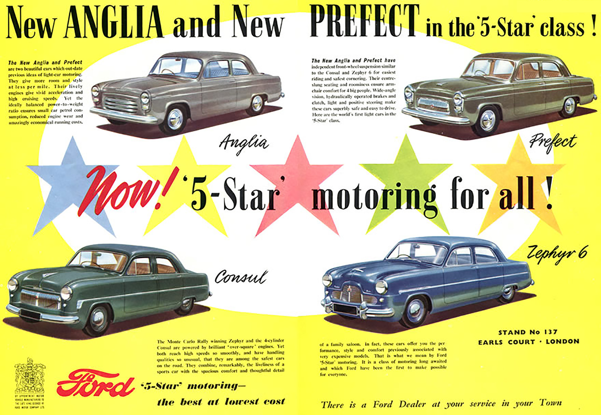 1953 Ford range ad