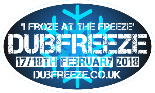 Dubfreeze logo camper