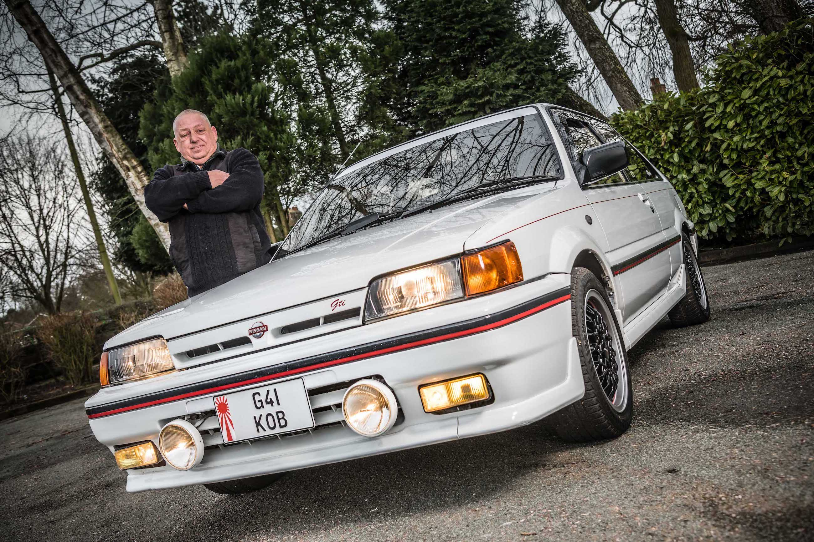 Nissan Sunny ZX restored