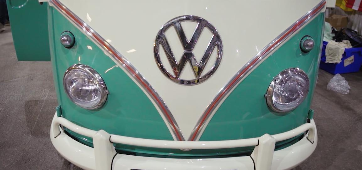 VW camper badge