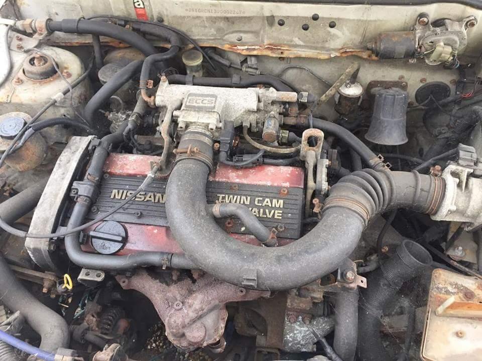 Nissan Sunny ZX engine