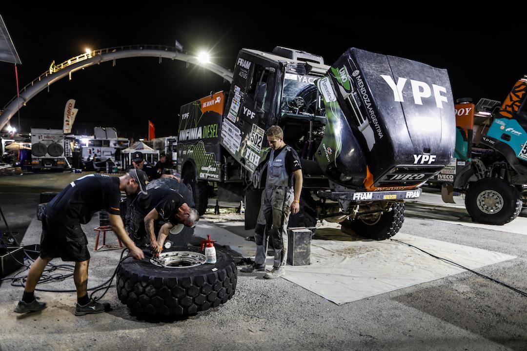 Dakar Support Influx
