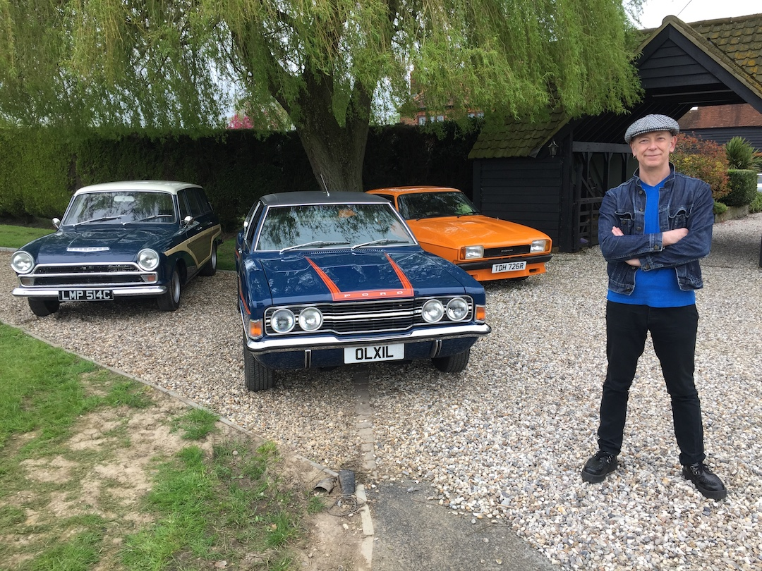 Gareth Jones The Ford Cortina And Me Influx