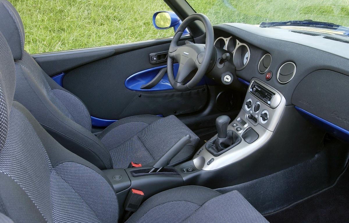 Fiat Barchetta Interior