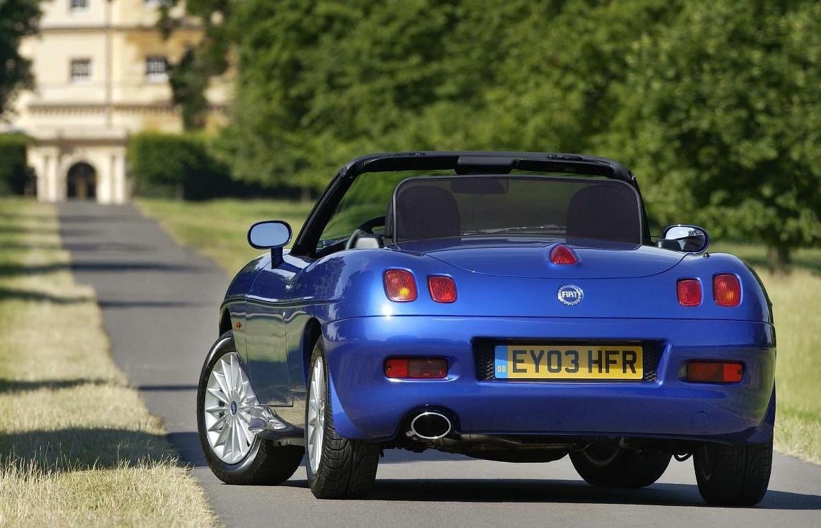 Fiat Barchetta rear