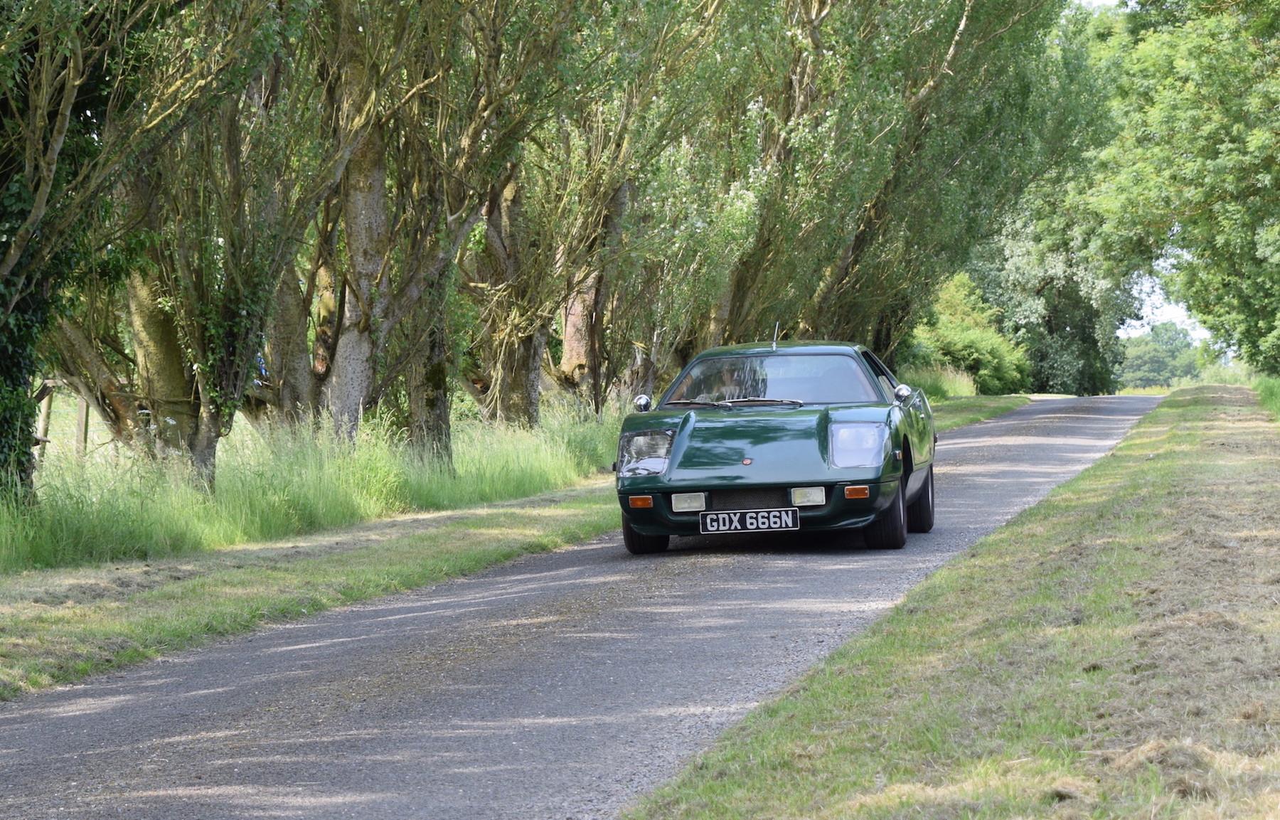 Strada on road