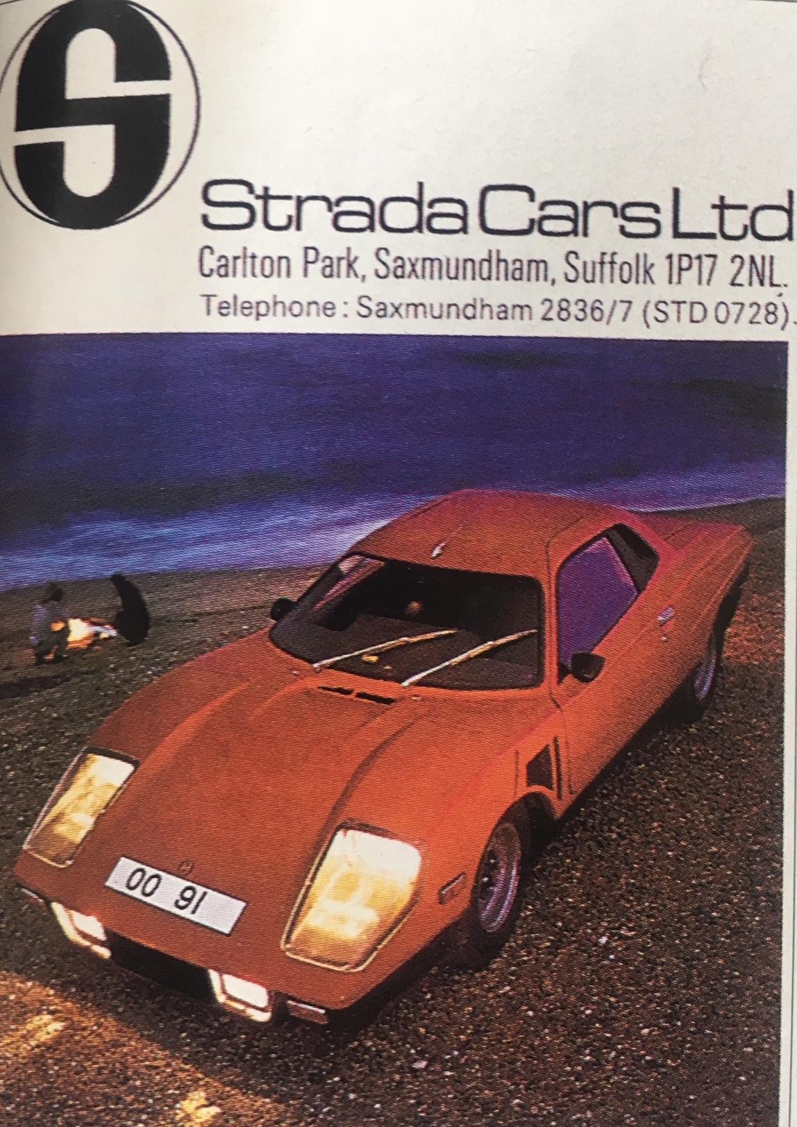 Strada Cars brochure