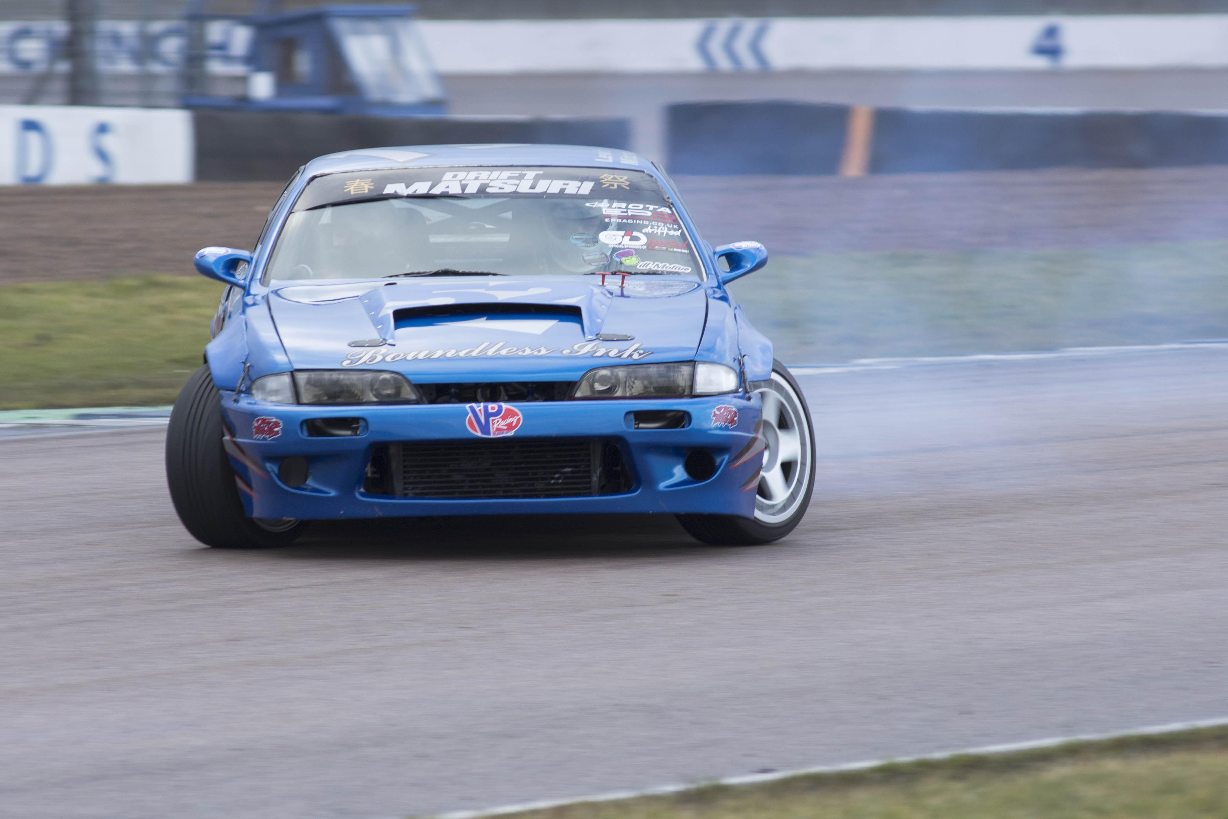 Blue Matsuri drifter
