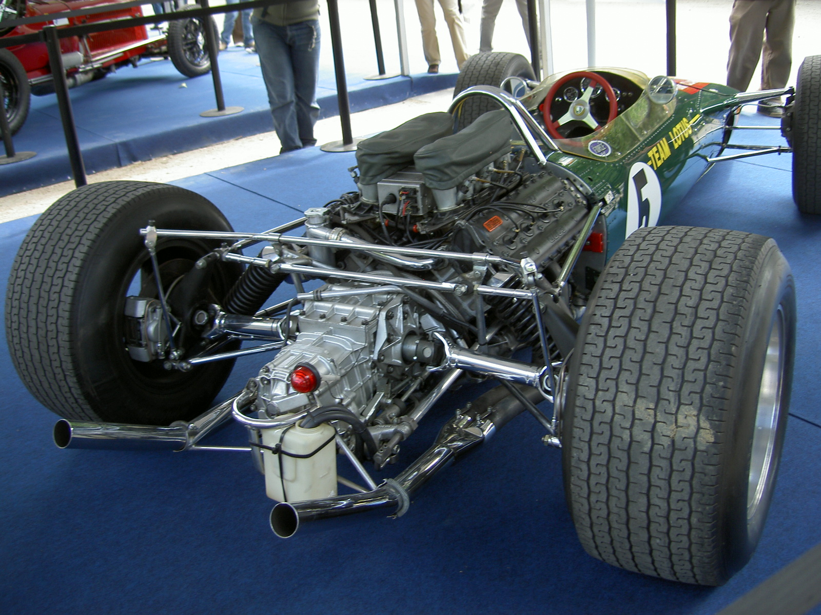 Cosworth DFV - Influx