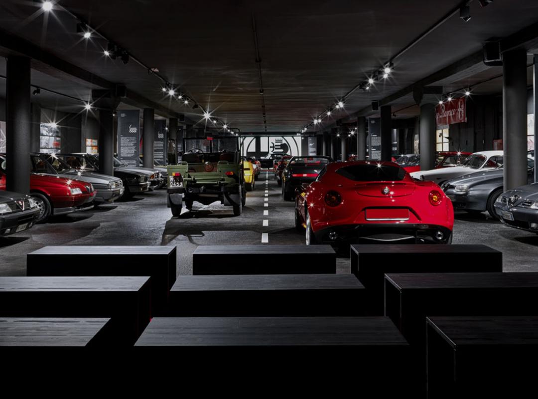 Museo Fratelli Cozzi Alfa Romeo museum
