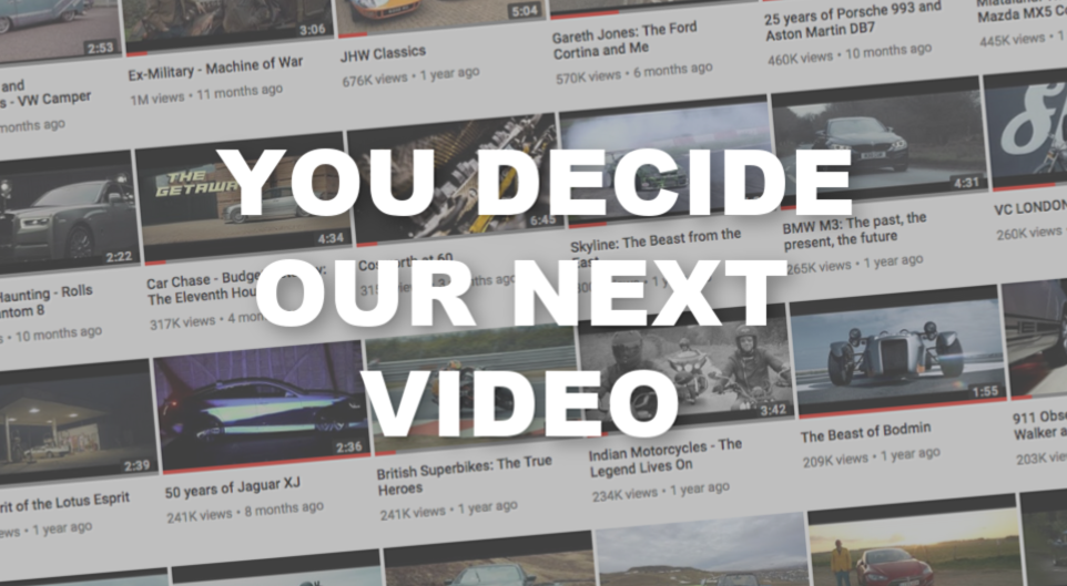 video choice header