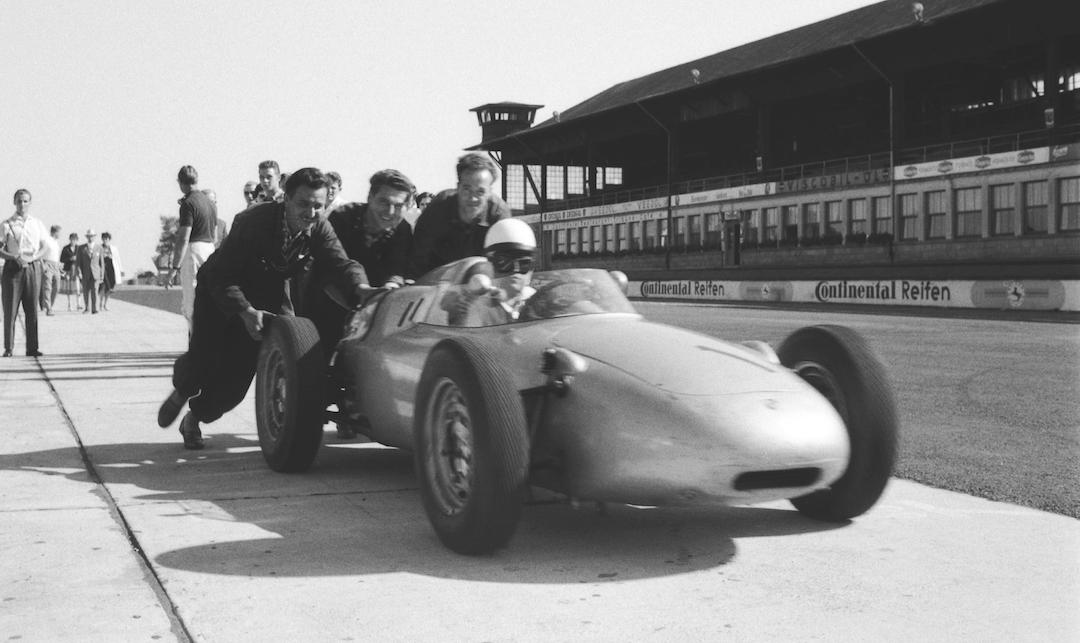 718: Sixty Years of Porsche's Targa Florio and F1 Flier - Influx