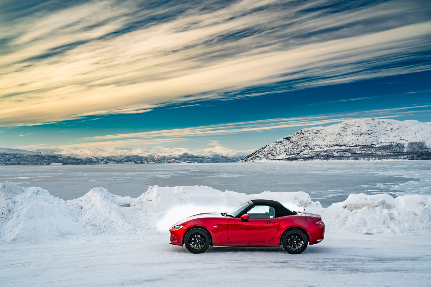 We Still Have Lot Of Snow On Ground But >> Snow Ice And Sports Cars Influx