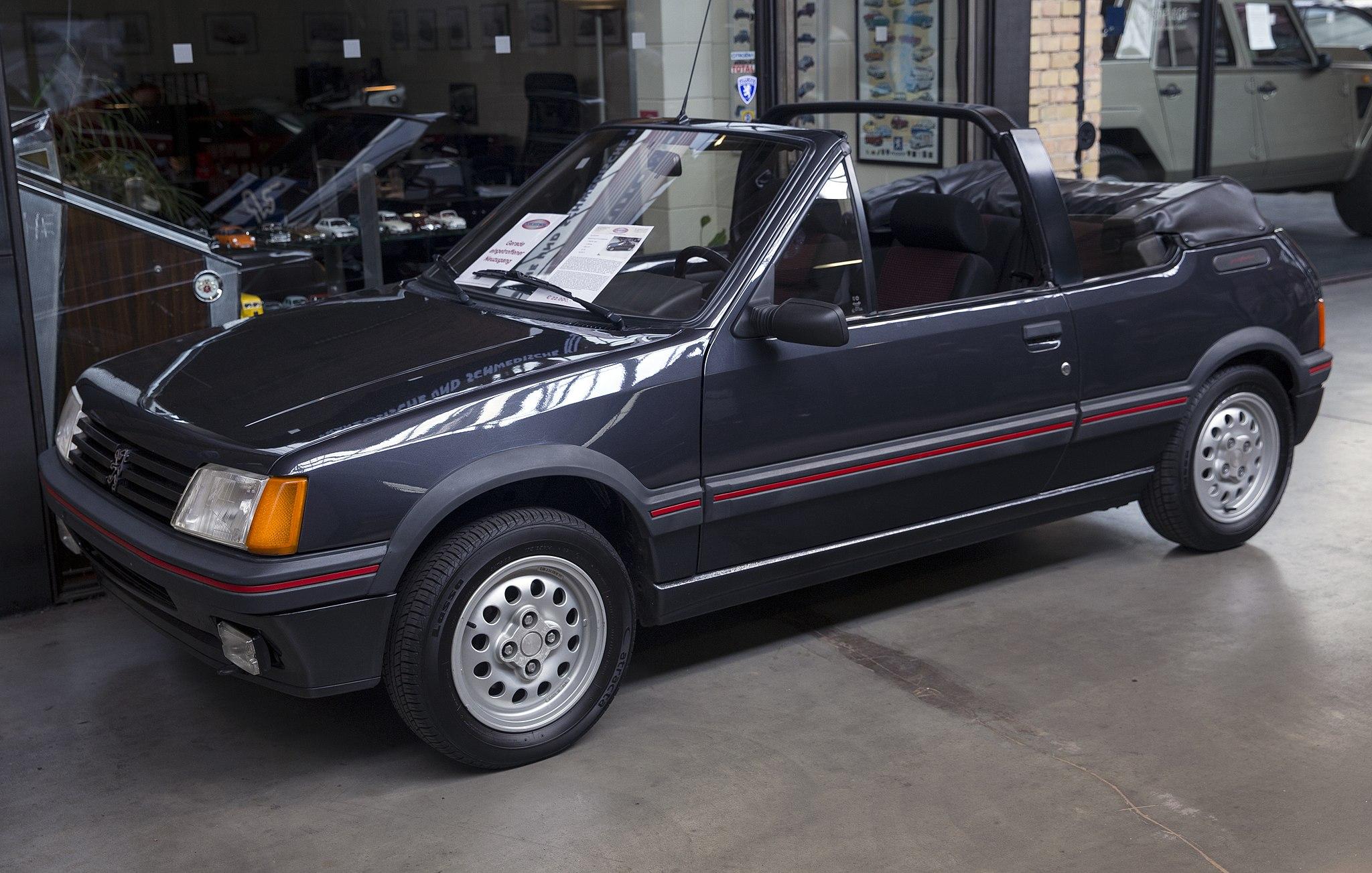 205 CTi convertible