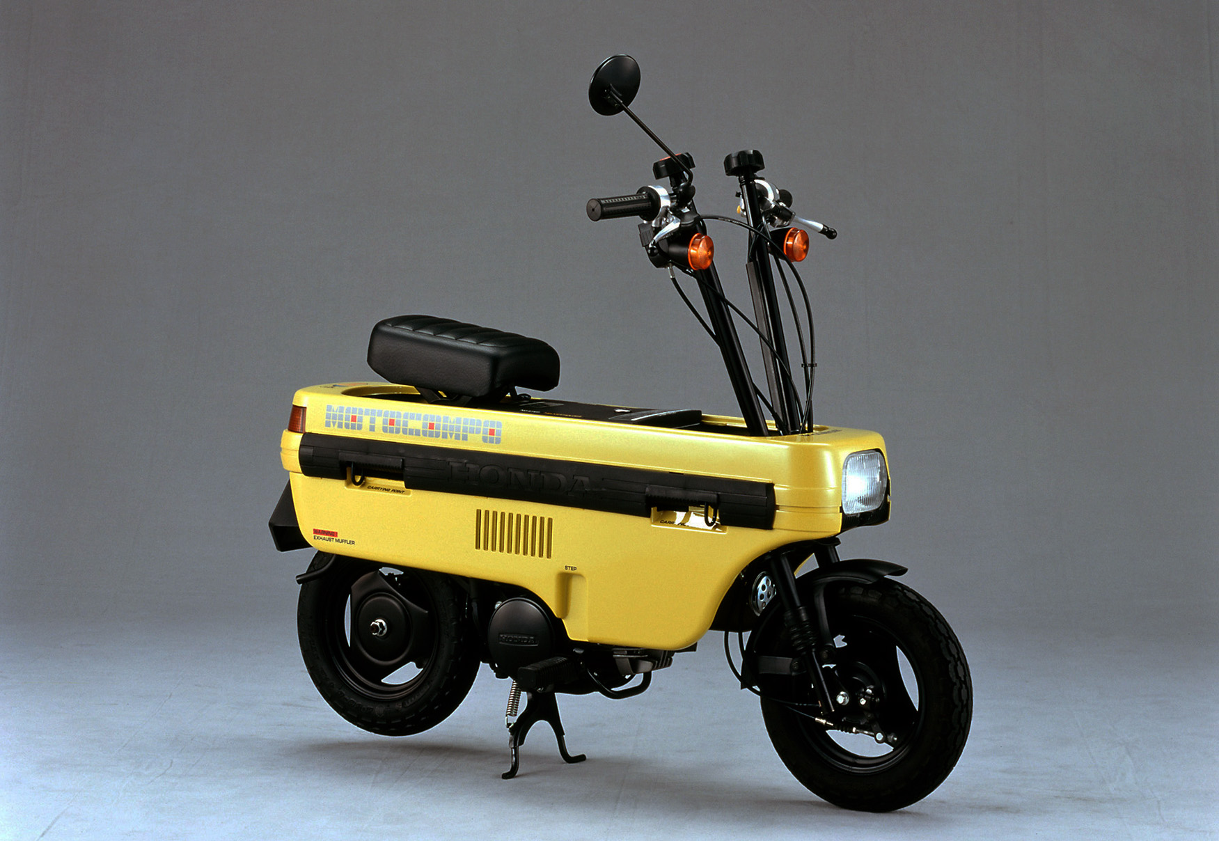 Motocompo bike yellow