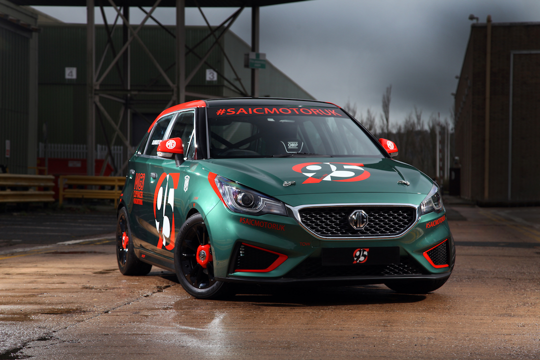 MG3 MG race car