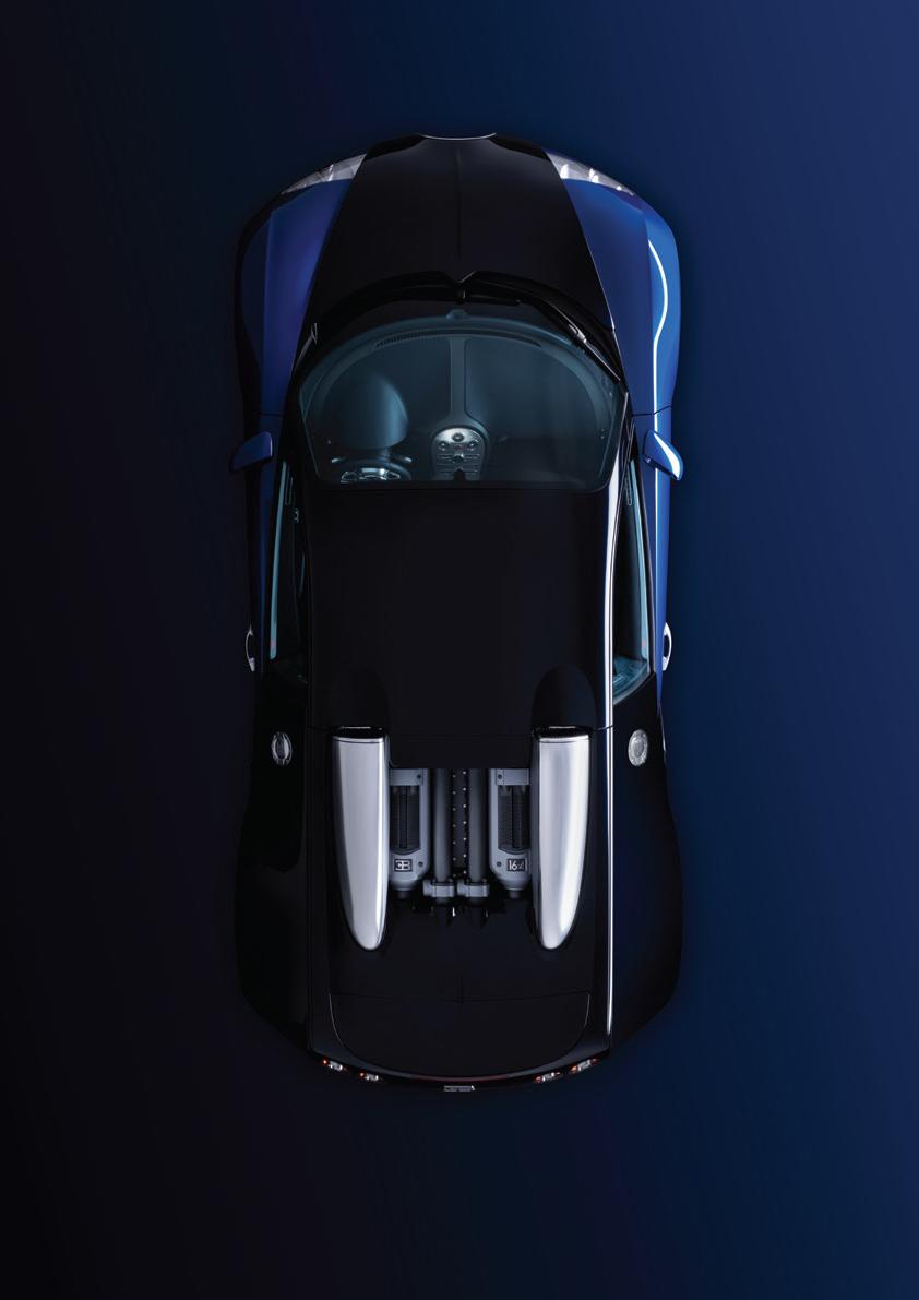 Bugatti Veyron overhead