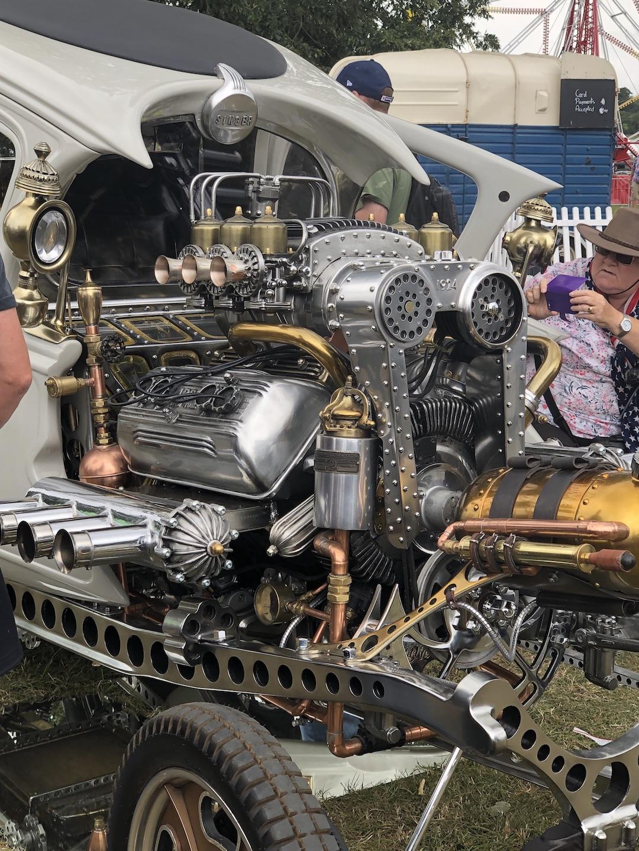 steampunk automatron hot rod