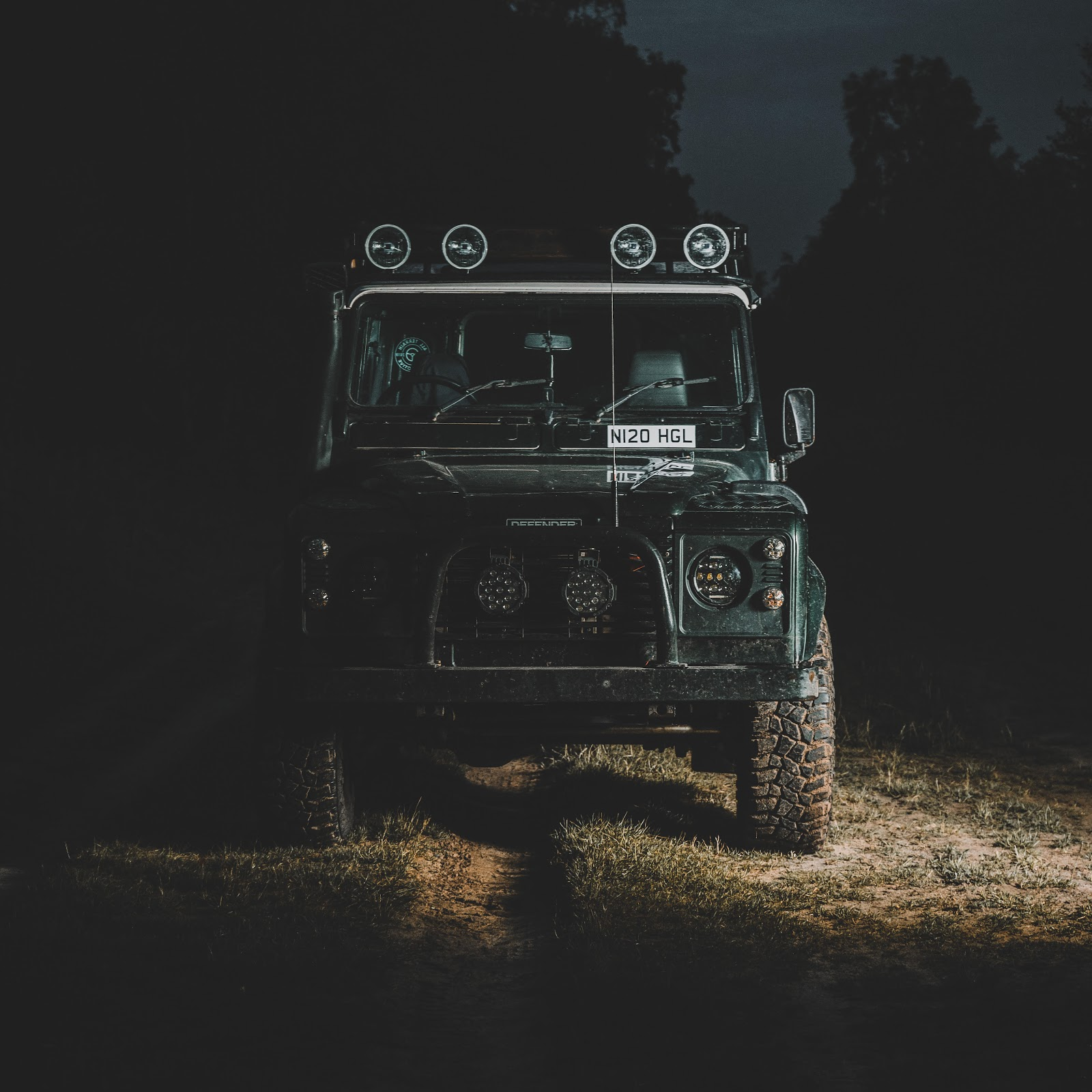 The Land Rover presents some light in the darkest of times.